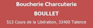 logo Boucherie BOULLET